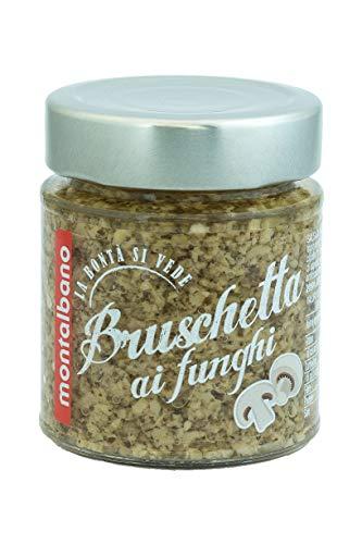 MONTALBANO Bruschetta ai Funghi 6 Vasi - 780 g