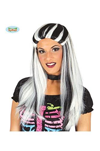 Perruque déguisements halloween ~ bicolore Streak perruque asst couleurs