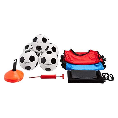 Amazon Basics - Kit de iniciación al fútbol intermedio