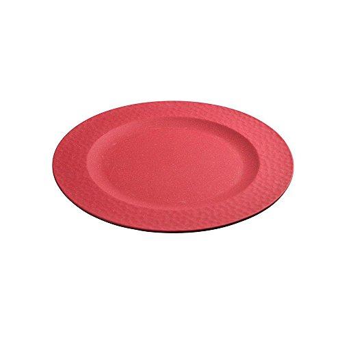 zuperzozial Grande Assiette martelée Rouge Cerise, Nylon/A