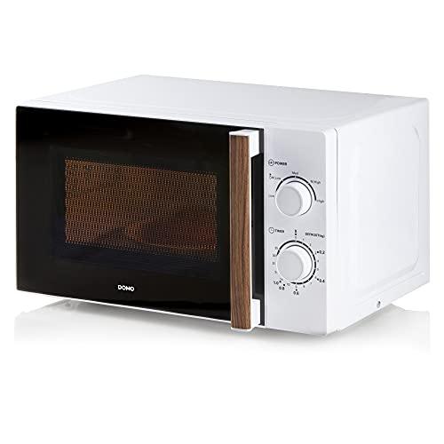 DOMO DO1057 - Microondas (20 L, 700 W), color blanco