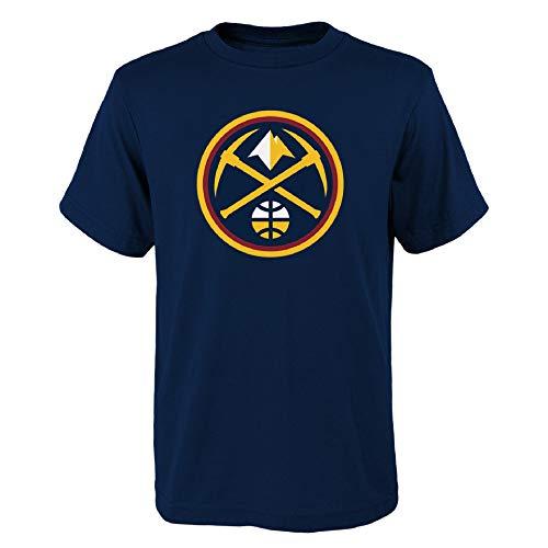 OuterStuff NBA Denver Nuggets Youth Primary - Camiseta infantil (talla 14/16)