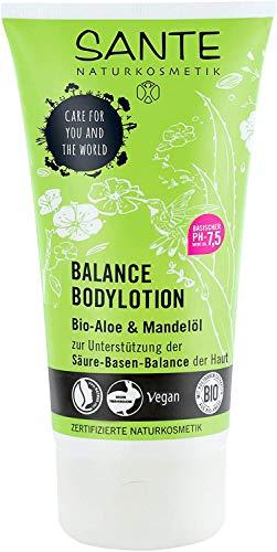 SANTE Naturkosmetik Balance Bodylotion, mit Bio-Aloe und Mandelöl, 150 ml