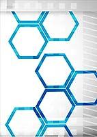 igsticker ポスター ウォールステッカー シール式ステッカー 飾り 841×1189㎜ A0 写真 フォト 壁 インテリア おしゃれ 剥がせる wall sticker poster 007978 クール デザイン 灰色 グレー 青 ブルー