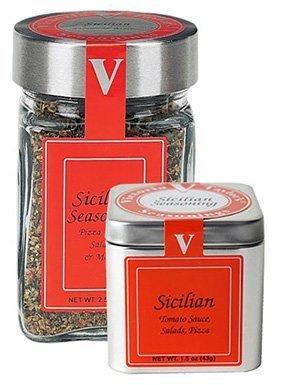 Sicilian Seasoning Blend - 2.5 oz Gourmet o Jar Use discount Victoria New Free Shipping