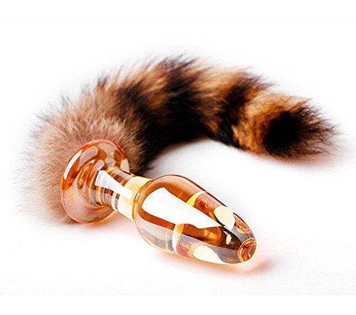 Akstore Fetish Soft Wild Fox Tail Anal Plug Butt Missile Massager Waterproof Bullet Stimulation Fantasy Cosplay Crazy Passion Plug Toy Alternative Anal Stimulator Adult Toy Sex Foreplay Fox Tail Stimulator Anal Plug
