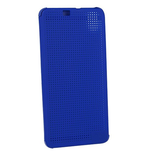 HTC Hard Shell Dot View Etui für Desire 826 blau