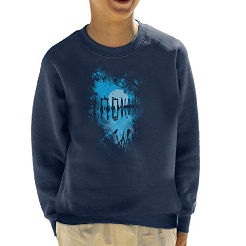 Cloud City 7 Reflection Moonlit Lake Kid's Sweatshirt