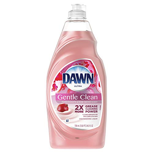 Product Image of the Dawn Ultra Gentle Clean Dishwashing Liquid Dish Soap, Pomegranate & Rose Water Scent, 24 fl oz