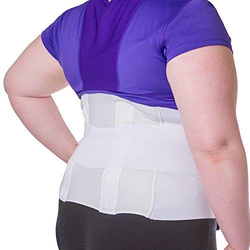 BraceAbility Plus Size 6XL Bariatric Back Brace | Obese Support Girdle for Lower Lumbar Back...