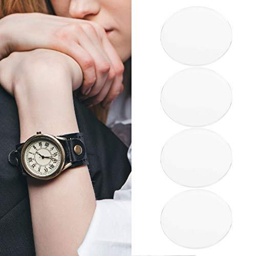 01 Vidrio de Reloj, Lente de Vidrio de Reloj Cristal de Reloj de Zafiro de Cristal Plano Altamente Transparente para reparación de Relojes
