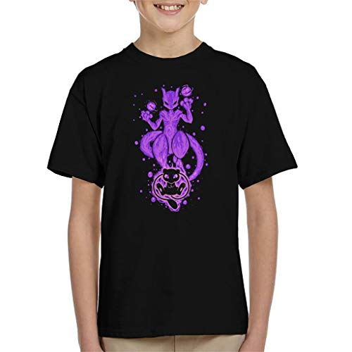 The DNA Within Mew Mewtwo Kid's T-Shirt