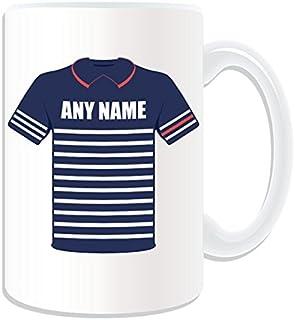 De regalo con mensaje personalizado - taza tamaño grande Team Estados Unidos (diseño deportivo, blanco) - del/de mensaje tu taza diseño de - Ryder Cup 2014 uniforme de domingo
