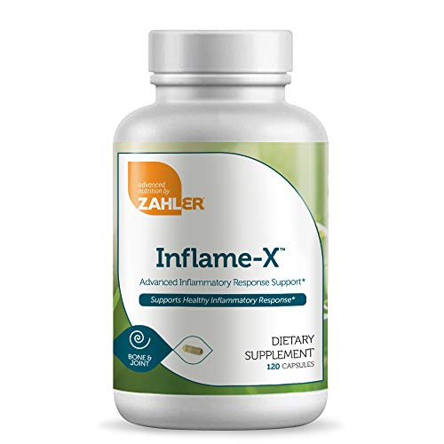 Zahler Anti-Inflammatory Supplement - Inflame-X Advanced Inflammation Reducer - Contains Tumeric...