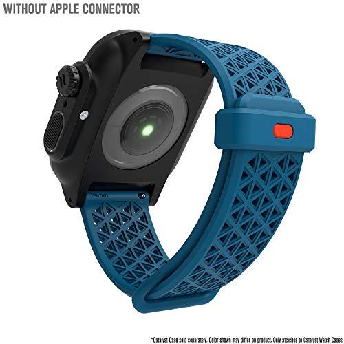 Catalyst Sport Band per Apple Watch Series 4-44mm-, Serie 3,2,1-42mm-, Ipoallergenico, Traspirante, Sgancio rapido, Compatibile con Le Casse, connettori per Altre Marche Non Incluse, Teal
