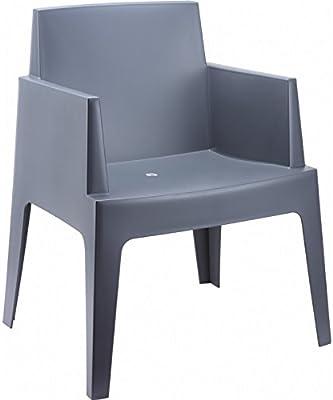 Amazon.com: Vondom Pedrera - Juego de 4 sillones pequeños ...