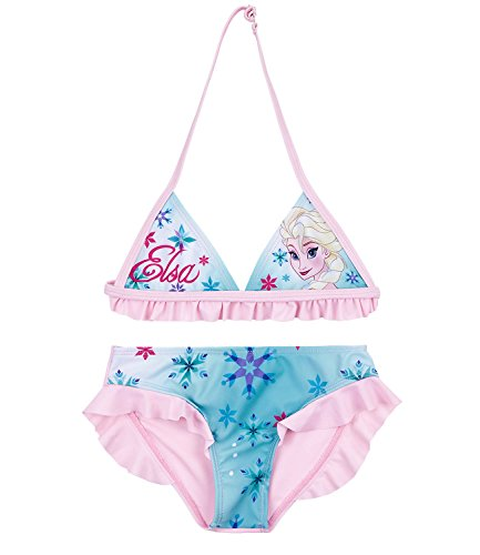 Disney Die Eiskönigin Elsa & Anna Mädchen Bikini - türkis - 104