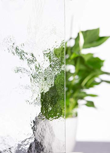 Elisando Kühlschrank Einlegeboden 48,5 x 31 cm | Glasplatte Kühlschrankplatte strukturiertes Glas Einlegeboden Ersatzteil | Ersatz Abstellboden Einschub Boden in vielen Größen für viele Markengeräte