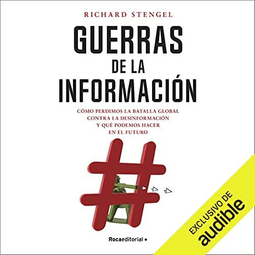 Diseño de la portada del título Guerras de la información