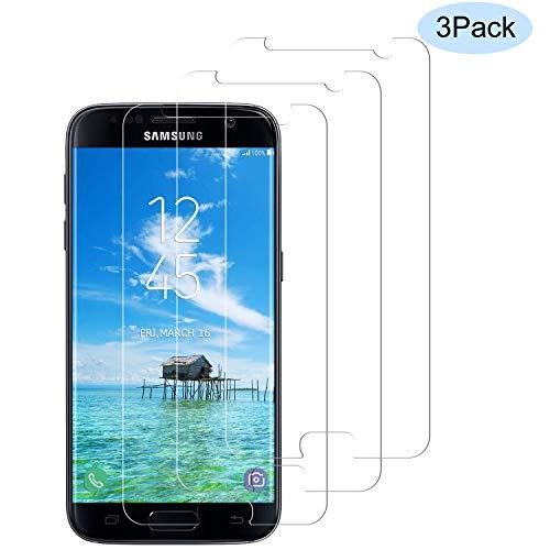 Miuphro[3-Pack Protector de Pantalla Samsung S7, Cristal Templado Compatible con Samsung S7,[Fácil de Instalar] [Resistente a los arañazos] [9H Dureza] [Anti-Aceite]