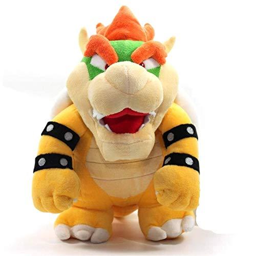 LIUXIYUANG Super Mario Koopa Bowser Dragon muñeco de Peluche de Peluche de Regalo para niños, niños y niñas de 10 Pulgadas (dragón)