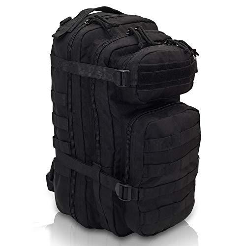 Elite Bags - C2 Bag Mochila de Combate Compacta con Sistema Molle (Negro)