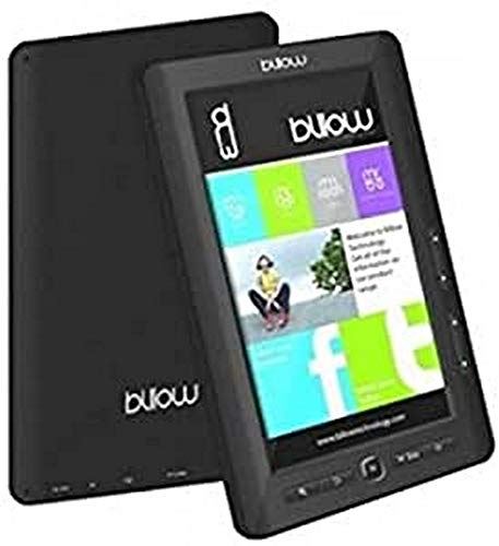 Billow E2TB lectore de e-Book - E-Reader (TFT, 800 x 480 Pixeles, ePub, FB2, HTML, MOBI, PDB, PDF, RTF, TXT, AAC, Ape, FLAC, MP3, OGG, WAV, WMA, BMP, GIF, JPG, PNG, 3GP, AVI, FLV, MP4, MPG, RMVB)
