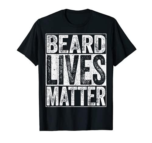 Hombre Beard Lives Matter - Camiseta para hombre con barba Camiseta