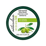 3 in 1 Body Butter with Spanish Natural Olives by Naturalium | Natural Skin Moisturizer for Body, Face, and Foot | Hydrates, Protects, and Softens Skin | Non-Greasy Formula Perfect for Normal and Dry