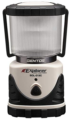 GENTOS(ジェントス)LEDランタン【明るさ530ルーメン/実用点灯20-360時間/3色切替/防滴】エクスプローラーSOL-013C防災あかり停電時用ANSI規格準拠