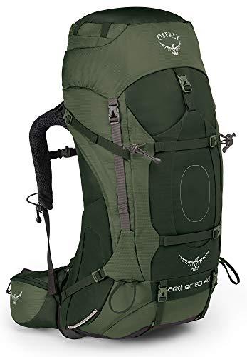 Osprey Packungen Aether AG 60Rucksack, Adriondack grün, MD, Adirondack-Grün, Medium