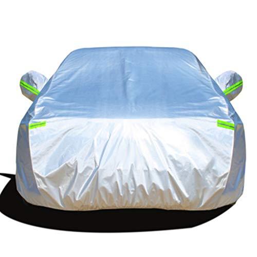 XINGP-Car Cover Cubierta del Coche Compatible con BMW X1 X2 X3 X4 X5 X6 X7 Z4 Impermeable a Prueba de Viento de Sunproof Resistente del rasguño Reflectante Tiras Cubiertas de algodón Dentro Completa