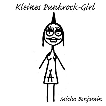 Kleines Punkrock-Girl