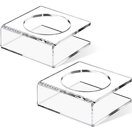 2 Stücke U Förmige Acryl Kugel Ständer Basketball Halter Transparente Fußball Podest Sockel für Volleyball Bowling Kugel Display