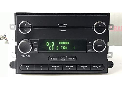 Stereo Squad Radio Compatible with 06-09 Ford Fusion Mercury Milan Radio AUX MP3 6 Disc CD Changer Without Clock