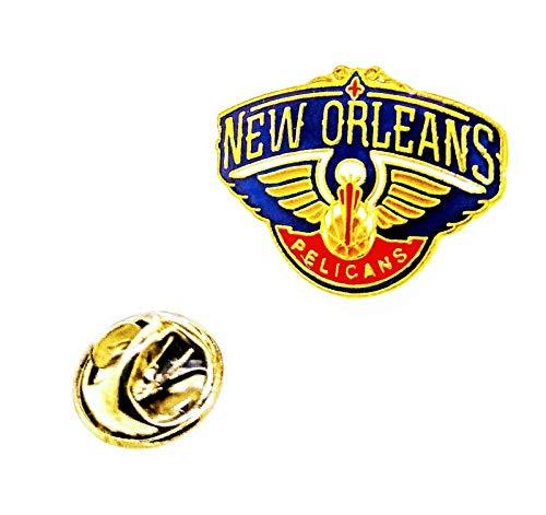 Gemelolandia | Pin de solapa NBA New Orleans Pelicans 25x17mm | Pines Originales y Baratos Para Regalar | Para las Camisas, la Ropa o para tu Mochila | Detalles Divertidos