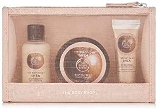 The body shop shea delights bag shower gel body butter hand cream