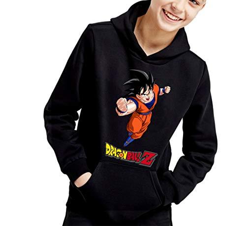 The Fan Tee Sudadera de NIÑOS Dragon Ball Goku Vegeta Bolas de Dragon Super Saiyan 067 5-6 años
