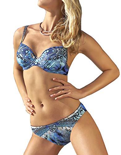 Sunflair Blue Charm Bikini, Azul (Blau 26), 100C (Talla del Fabricante: 42C) para Mujer
