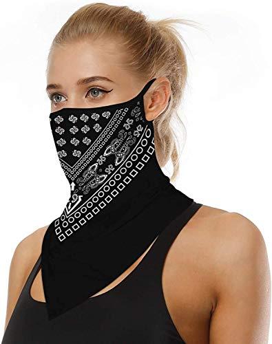 ARKIM Unisex Bandana Gesichtsmaske Schal Gesicht Rave Sturmhaube Hals Gamaschen Staubtuch Waschbare Wind Motorrad Maske Frauen Männer (Style-14)