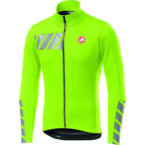 Castelli Double 2 Jacket, mens, Sports Jacket, 4519506, Yellow Neon, M