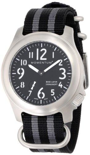 Momentum 1M-SP76B7S - Orologio da polso, uomo, nylon, colore: grigio