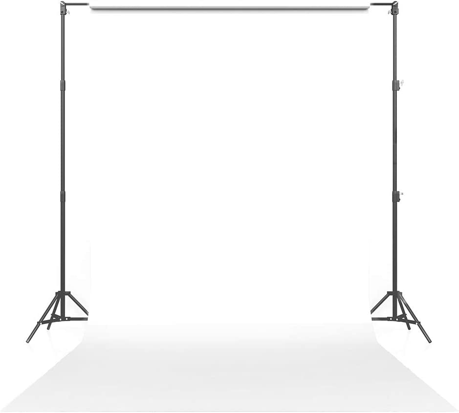 Savage Seamless Paper Photography Backdrop - #1 Super White (86 in x 18 ft) for YouTube Videos, Live Streaming, Interviews and Portraits - Made in USA