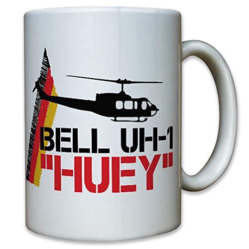 Bell UH-1 HUEY Hubschrauber Heeresflieger Pilot Helicopter - Tasse #10134