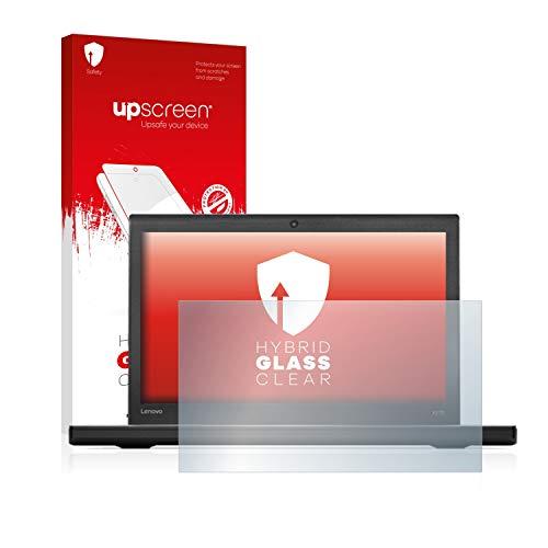 upscreen Hybrid Glass Panzerglas Schutzfolie kompatibel mit Lenovo ThinkPad X270 9H Panzerglas-Folie