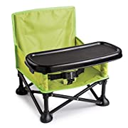 Summer Pop and Sit Portable Booster, Green/Grey