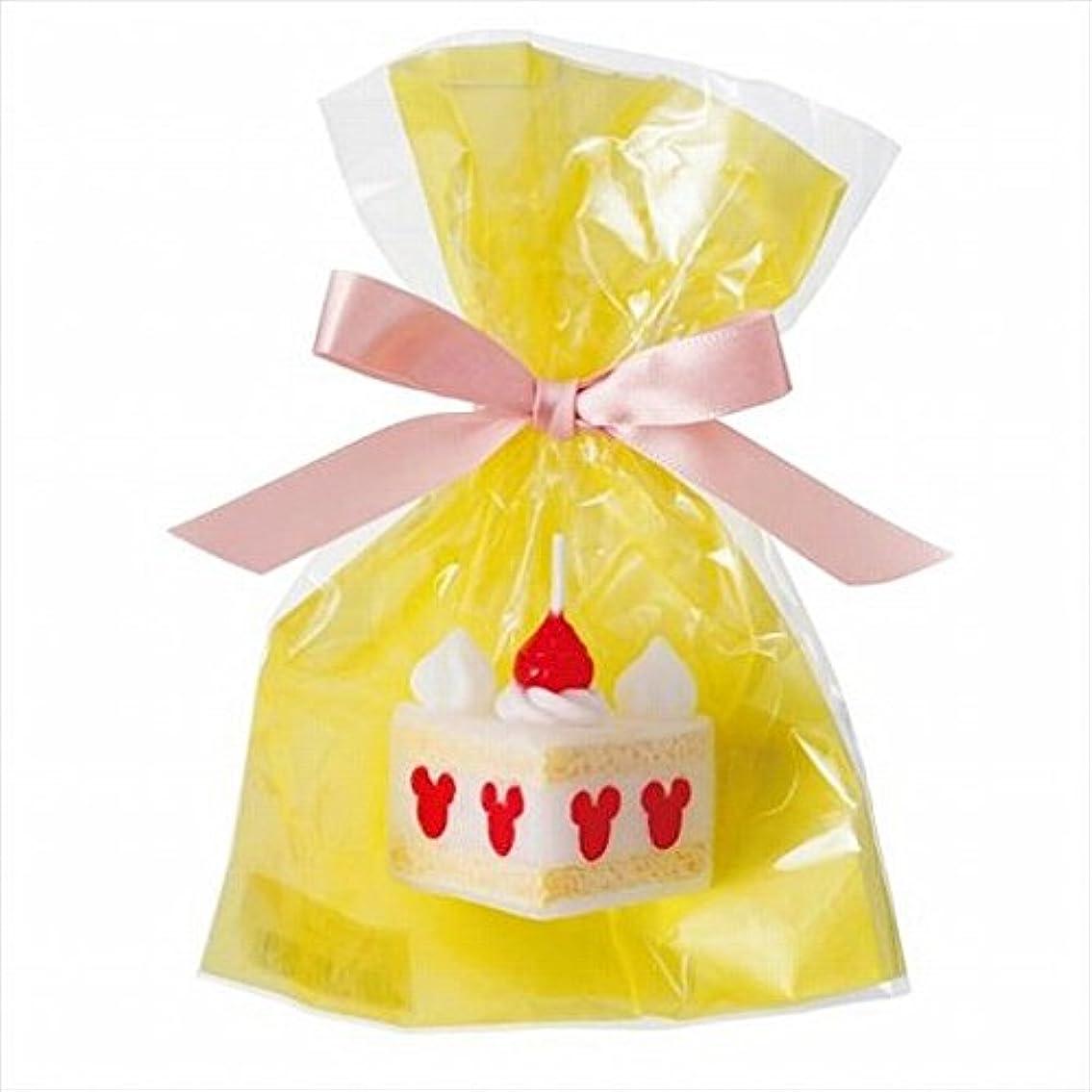 繕うレギュラー名詞sweets candle(スイーツキャンドル) ディズニースイーツキャンドル 「 ショートケーキ 」 キャンドル 43x32x40mm (A4350010)