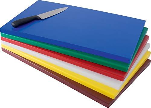 Gastro Spirit - GN 1/1 Schneide-Brett/Küchen-Brett - Weiß, Kunststoff, 53 x 32 x 1,8 cm, HACCP, LFGB Zertifikat