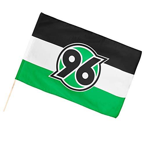 Hannover 96 Fahne, Schwenkfahne 120 x 80 cm 042000477-2