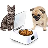 Stainless Steel Portable Pet Dog, Cat Outdoor Travel Water Bowl, Bottle Feeder for Drinking,...
